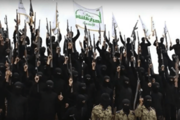 ISIS - Terrorist -American businesses that have been funding terrorist organizations? Photo captured through the video.
