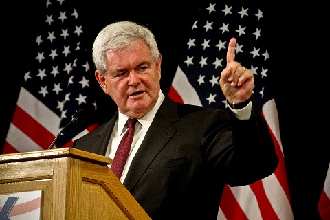 Newt Gingrich. Photo by David Davidson/CC0 /Pixabay.