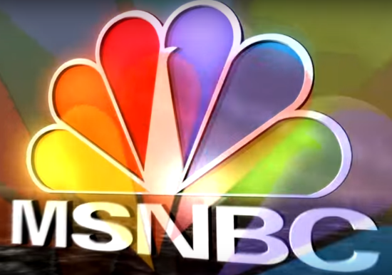 MSNBC Photo from Digital Lista in from Youtube.